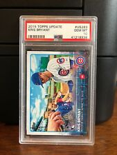 2015 Topps Update Kris Bryant Cubs Rookie Card #US283 PSA 10 Gem Mint