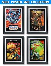 Golden Axe, Earth Worm Jim, Truxton, Splatter House 3, Sega 4 FoamBoard Posters