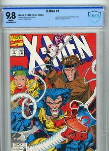 X-Men #4 (Marvel 1992) | CBCS 9.8 NM/MT | 1st Appearance of Omega Red | KEY