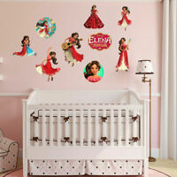 Princess Elena Of Avalor Girls Wall Stickers Nursery Decor Vinyl Decal Art Mural