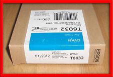 12-2011 NIB  GENUINE EPSON T6032 220ML CYAN INK STYLUS PRO 7880 9880 T603200