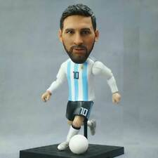 Lionel Messi Action Figure Argentina Football Star Statue Souvenirs 5.1''H