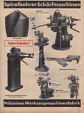 NÜRNBERG-EIBACH, Werbung 1938, Paul Förster Präzisions-Werkzeug-Maschinen-Fabrik