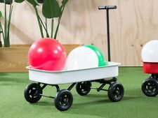 NEW Mocka Kids White Steel Wagon