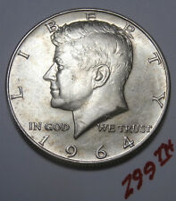 1964-D   J.F. KENNEDY  Half Dollar Coin