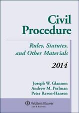 Civil Procedure : Rules, Statutes, and Other Materials 2014 by Andrew M. Perlma…