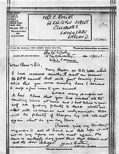 8814 G. Morley - C. Rogers,66 Elliston St. Cleethorpes Airgraph 1943 BF218