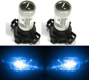 LED 30W 12190 5200 PY24W Blue 10000K Two Bulb Light Turn Signal Replace Show Use