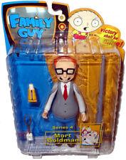 Family Guy Mort Goldman Figure MIB Series 4 Mezco Toy Narrow Eyes Variant RARE