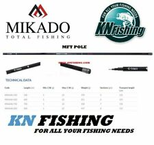 MIKADO 'MFT POLE' Pole Fishing Float Rod 5m 6m 7m 8m High Carbon Rod