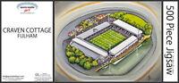 Craven Cottage Stadia Fine Art 500pc Jigsaw Puzzle - Fulham Football Club