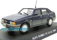 VISITEZ MA BOUTIQUE - 1:43 Carabinieri/Police - ALFA ROMEO 75 1.6 I.E. (1988)