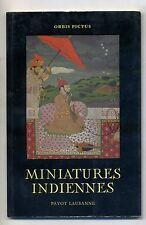 Gradmann # MINIATURES INDIENNES # Payot Lausanne 1954 - Orbis Pictus