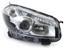 clear chrome front right side XENON headlight for Nissan Qashqai from 2010