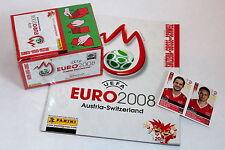 Panini EM EC Euro 2008 08 – 1 x Display Box SCHWEIZ SWISS sealed/OVP + ALBUM
