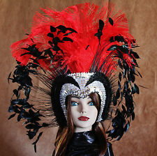 Hand Crafted Feather Mask (MH003)