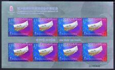 China PRC 2008-18 Olympiade Olympics 3987y Metall-Kleinbogen Postfrisch MNH
