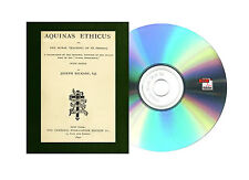 "AQUINAS ETHICUS: OR THE MORAL TEACHING OF ST. THOMAS ""SUMMA THEOLOGICA"" Books CD"