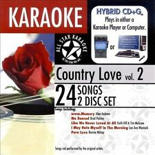 Karaoke: Country Love 2, Various Artists, Good