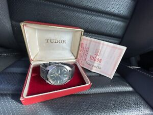 TUDOR WATCH REF. 104771 INCABLOC 17 RUBIS WITH ORIGINAL BOX AND PAPER