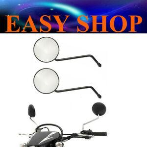 A Pair M10mm Motorcycle Rear View Mirror for Honda CT110 XR250L Postie Bike