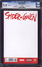 == Spider-Gwen #1 - Blank Sketch Cover - CGC 9.8 ==