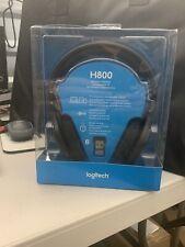 Logitech - H800 Wireless Headset - Black