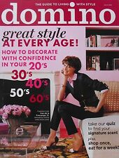 INES DE LA FRESSANGE  GREAT STYLE AT EVERY AGE! March 2009 DOMINO Magazine