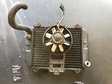 Radiator and electric fan Kawasaki Ninja 500 EX500A 87 88 89 90 91 92 93