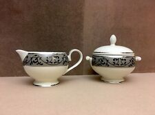 BOND STREET Mikasa Fine China Creamer and Sugar Bowl Set with Lid L3423