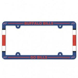 Buffalo Bills Plastic License Frame [NEW] NFL Tag Auto Car Plate Truck