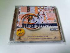 """ORIGINAL SOUNDTRACK """"EL COR DE LA CIUTAT"""" CD+DVD 24 TRACK BANDA SONORA BSO"""