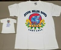 Vintage Steve Miller Band 1999 Last Call Concert Tour T-Shirt Men Large 70s Rock