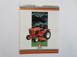 Ingersoll Yard & Garden Full Line Planning Guide Brochure 1986 28 Pages