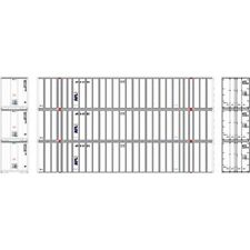 Athearn APL 53' Stoughton Container #1 (3 Pack) (HO) ATH72548