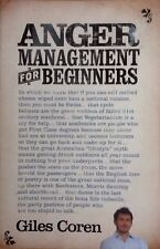 Anger Management For Beginners - Coren, Giles - Paperback 1st Edition