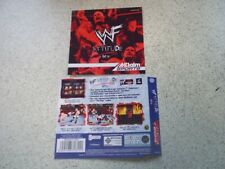 WWF ATTITUDE GET IT PAL  Sega Dreamcast Replacement  Inlays.Reproduction