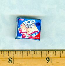 Dollhouse Miniature Size Modern Strawberry Tarts Box