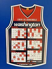 2014-15 WASHINGTON WIZARDS MAGNET SCHEDULE SKED - COMCAST/MONUMENTAL