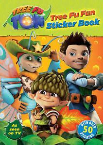 Tree Fu Tom: Tree Fu Fun Sticker Book (Tree Fu Tom Activity Book), Bantam Childr
