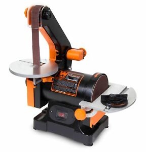 WEN 1 x 30-Inch Belt Sander with 5-Inch Sanding Disc, 6515T