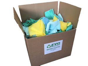 5Kg Mixed Rags Wipers Workshop Engineering Cleaning Wiping Industrial Cloths