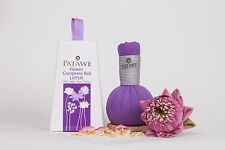 Lotus Flower & Thai Herbs Compress Ball Innovation Hot & Cold Application Relax