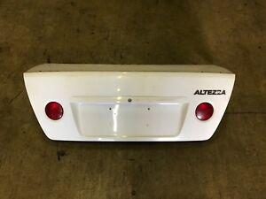 2001 2002 2003 2004 2005 Toyota Altezza / Lexus IS300 OEM White Trunk Lid