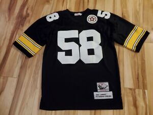 58 LAMBERT 1975 Authentic Jersey Pittsburgh Steelers Mitchell &Ness Size 48 NWOT