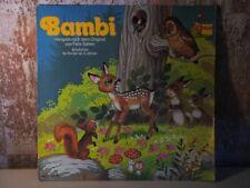 """BAMBI von Felix Salten Vinyl VG- 12"""" LP PEGGY Club Sonderauflage MARCATO 63 152"""