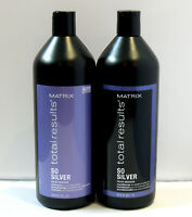 Matrix So Silver Shampoo & Conditioner 33.8 oz Liter Set SEALED Total Results