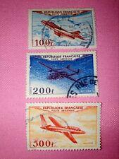 TIMBRE - POSTZEGELS - FRANKRIJK - AÉRIENS  FRANCE 1949  NR.30/31/32 ( F 388)