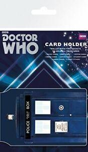 Doctor Who Tardis Card Holder TV Whovian Travel Pass