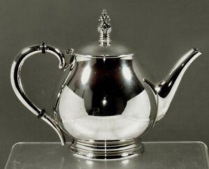 International Sterling Teapot             c1950 ROYAL DANIS - 9 CUP